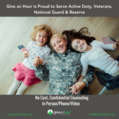 Free Mental Health Services Also for Military Kids