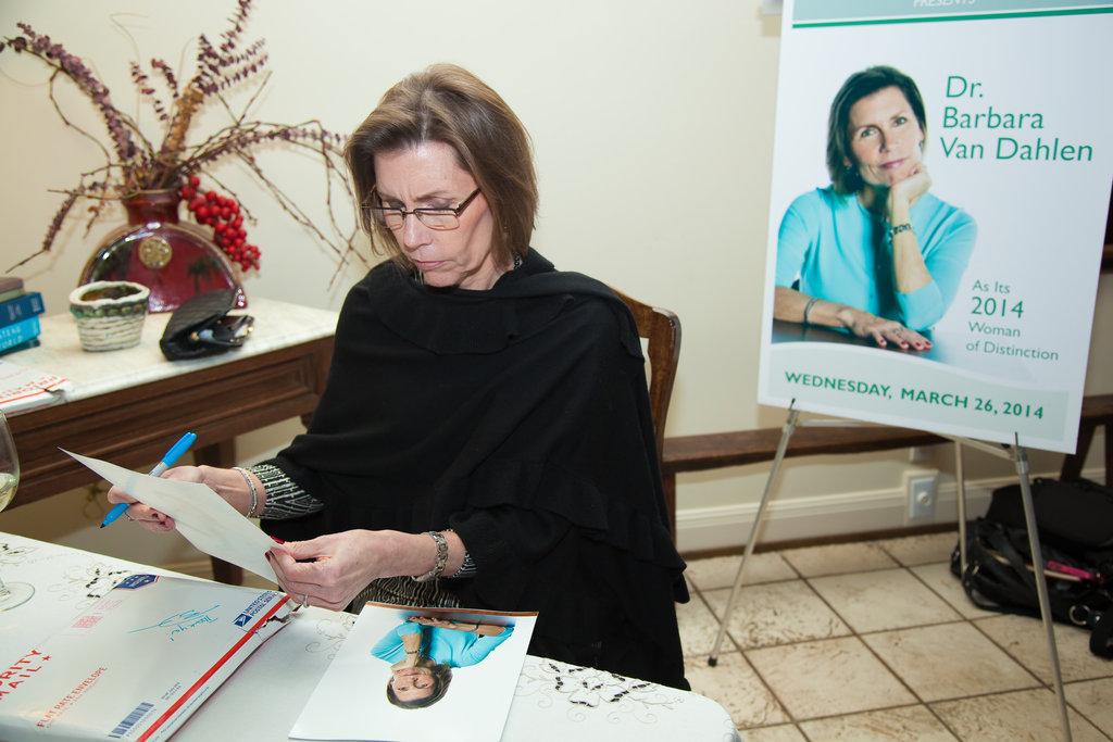 Barbara Van Dahlen, founder and president, GAH