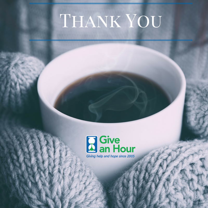 Thank you to our Global Giving donors.
