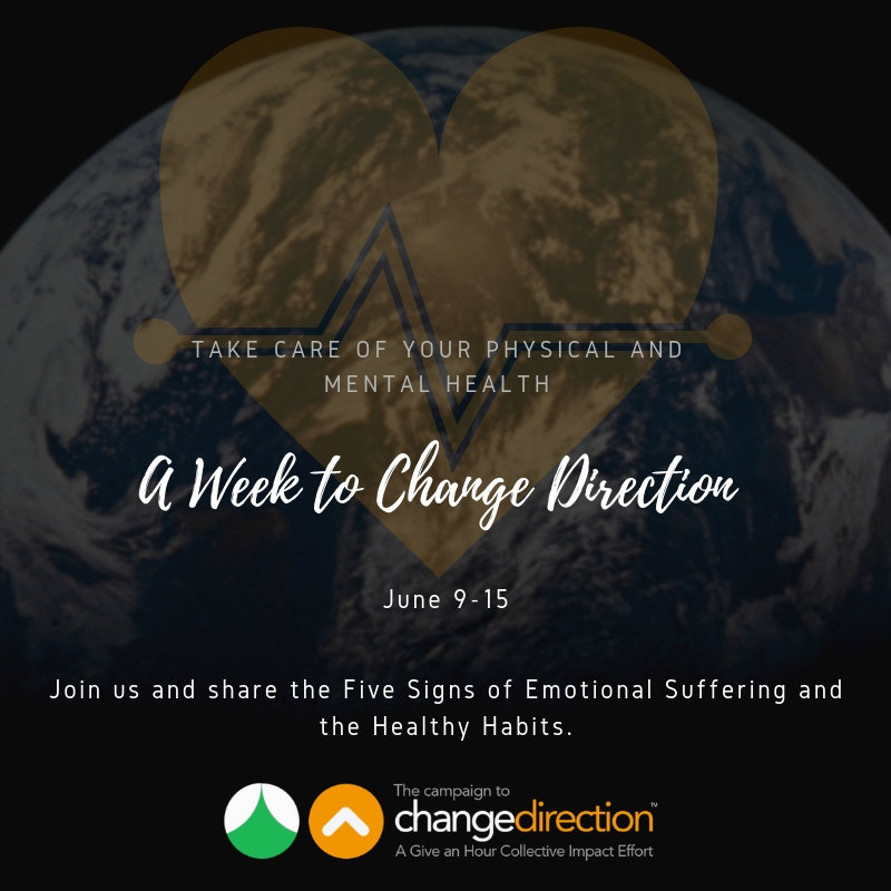 Join us for A Week to Change Direction - June 9th
