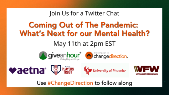Join our Twitter Chat.  Share your thoughts.