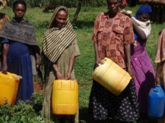 Pastoralist women in southern Ethiopia