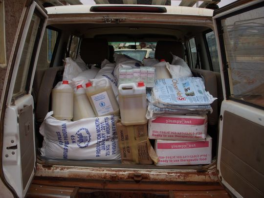 Mercy Corps bringing lifesaving food and supplies