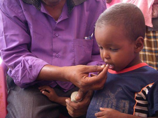 At a mobile clinic, photo: Bija Gutoff