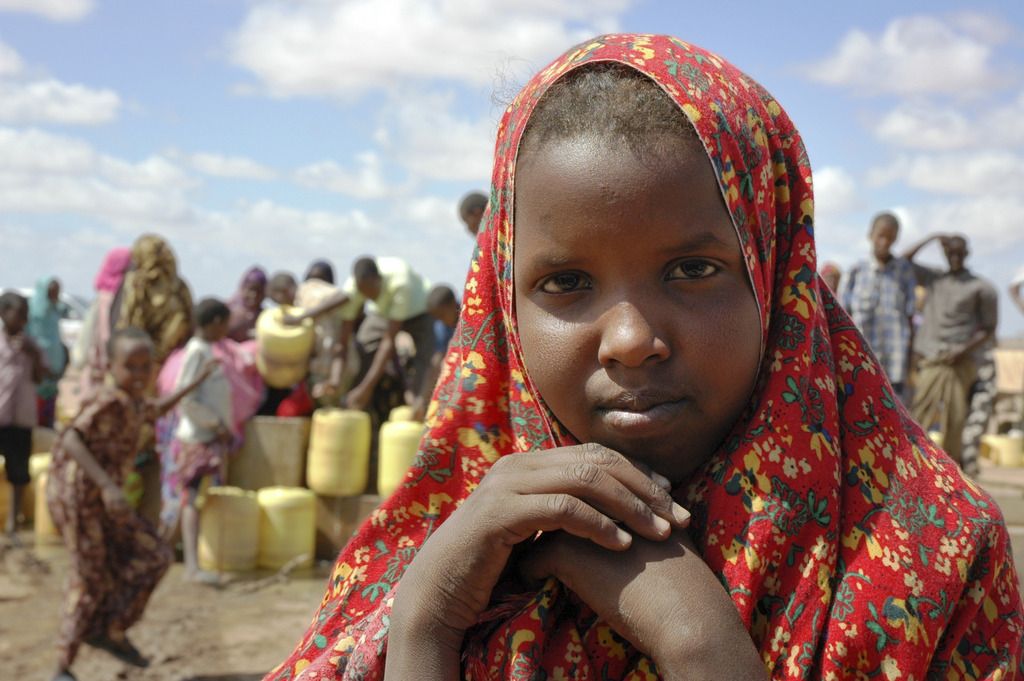 Mercy Corps supplied water in Wajir County, Kenya