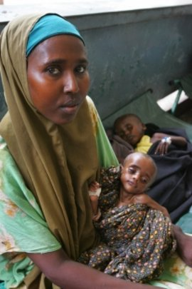 Somali mother. Photo by Cassandra Nelson