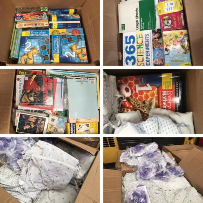 AAI education, story books, medical supply gifts