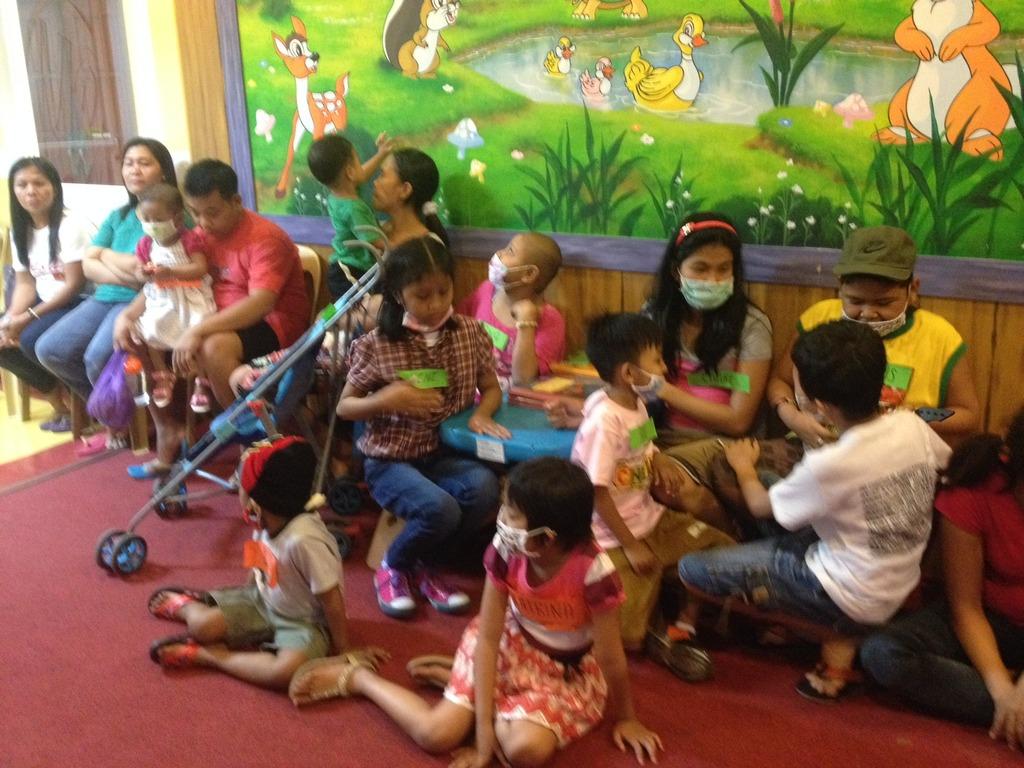 Happy Children @ Cancer Awareness Event 4-7-14