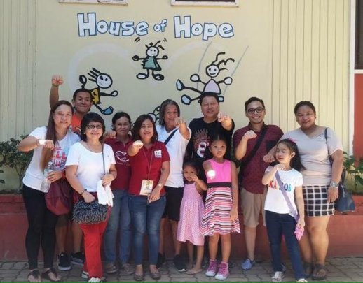 Volunteers of all ages at House of Hope