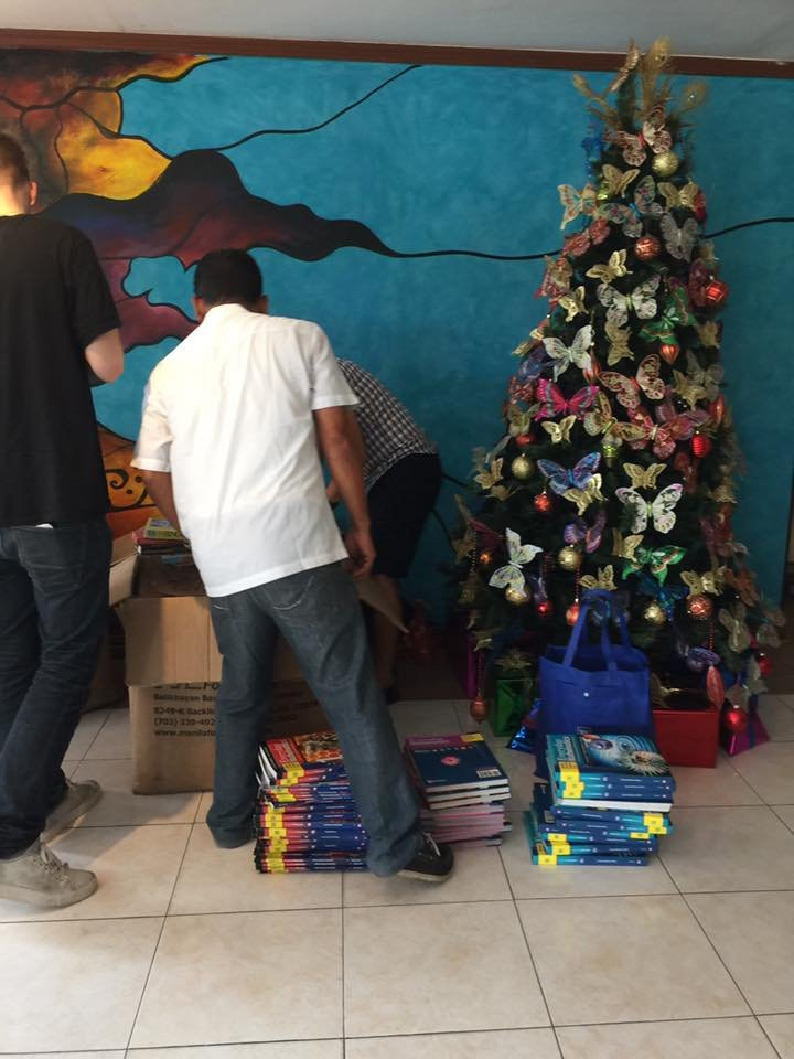 AAI and OWI gifts under Christmas tree