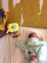 baby under care at House of Hope