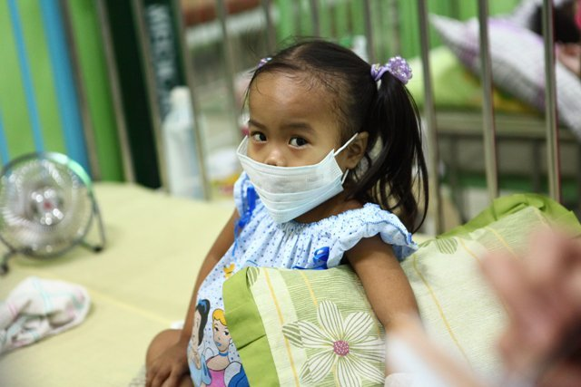 "Little Pauline in 2011 ""end stage"" genetic disease"