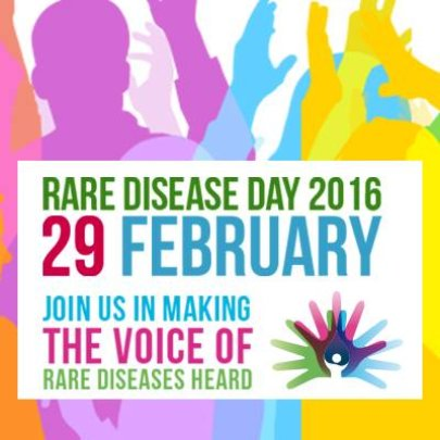 Poster for Rare Diseases Day February 29, 2016