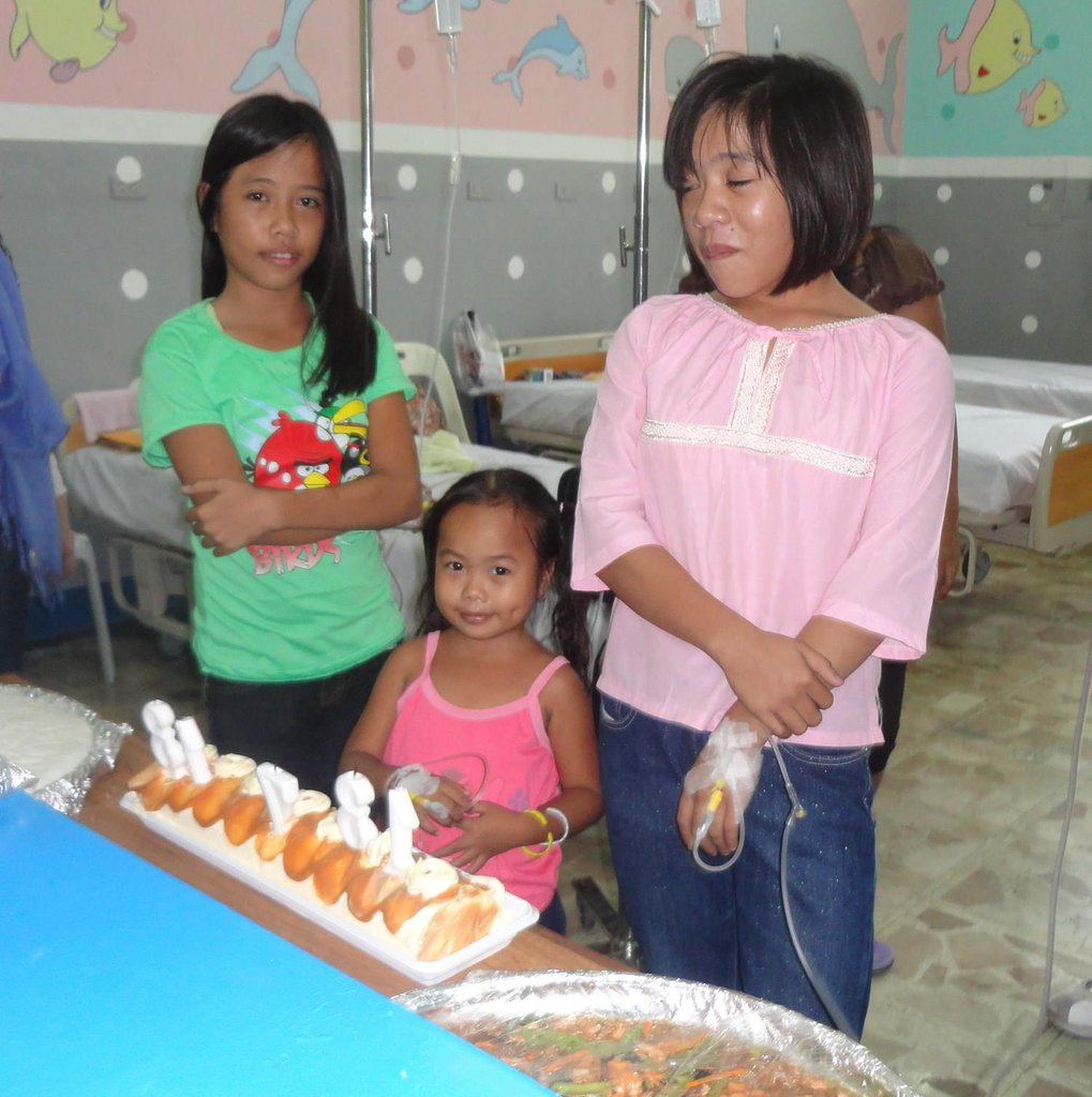Birthday party for three special girls