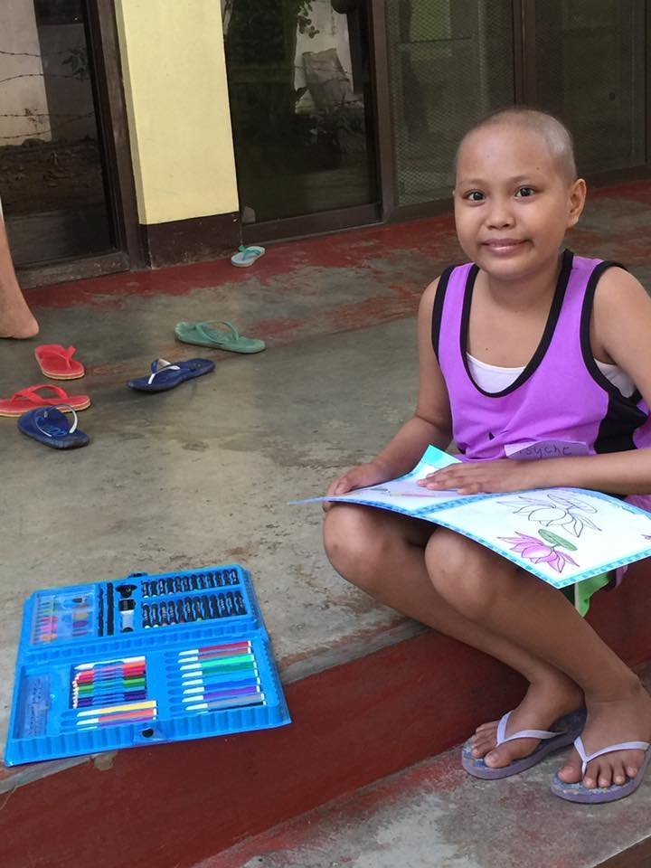 Pre-teen patient overcoming cancer, House of Hope