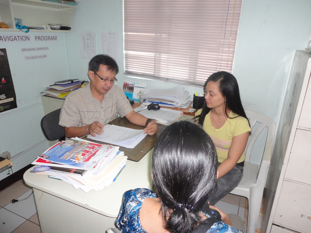 cancer patient screening & mutual support