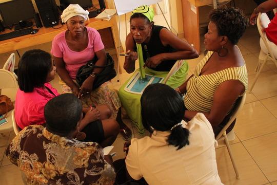 Grassroots women discuss civic participation