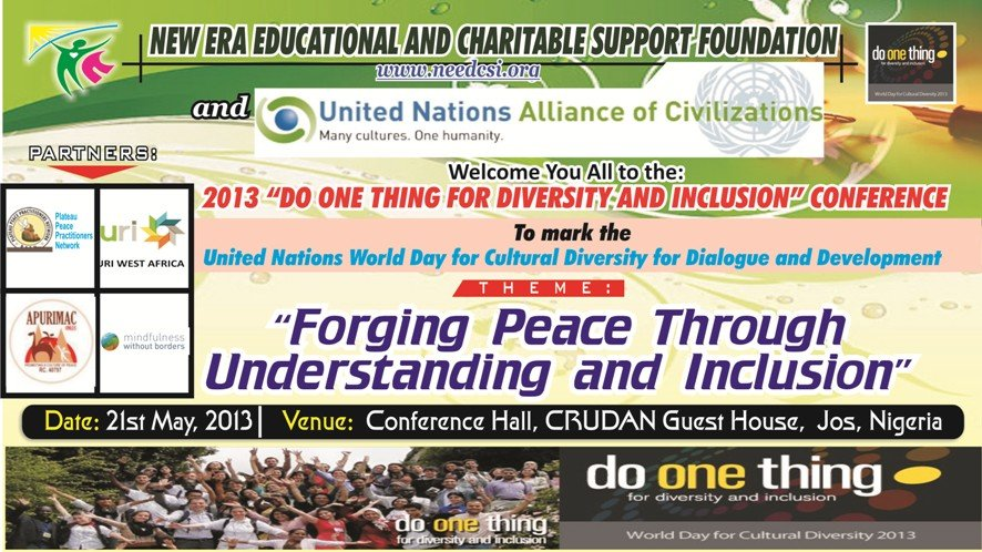 2013 Do One Thing Campaign Banner
