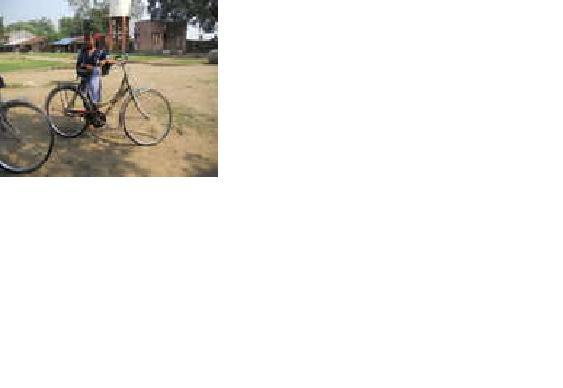 A Bicycle Give Madhuri Knowledge & Confidance