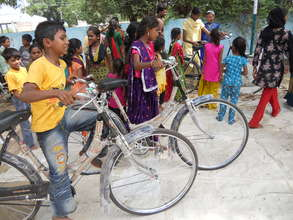 Group of children enjoy