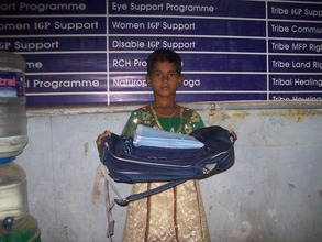 Ms.Selvi, a beneficiary child