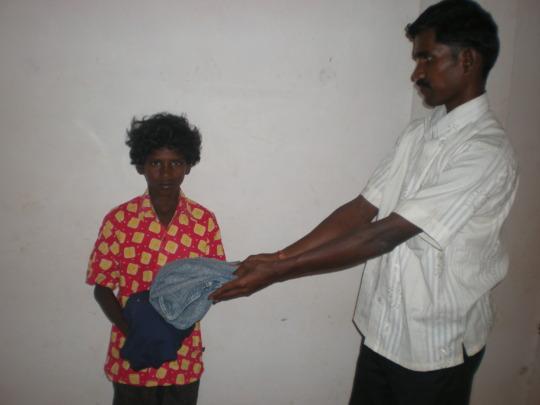 A child beneficiary