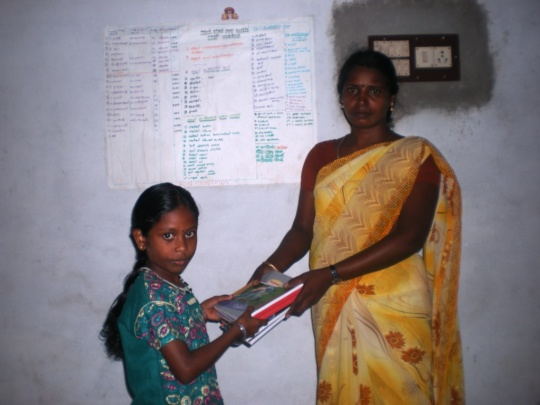 Ms.Selvi is a widow's child and beneficiary