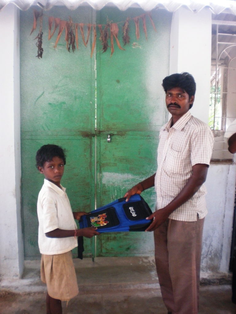 A beneficiary boy