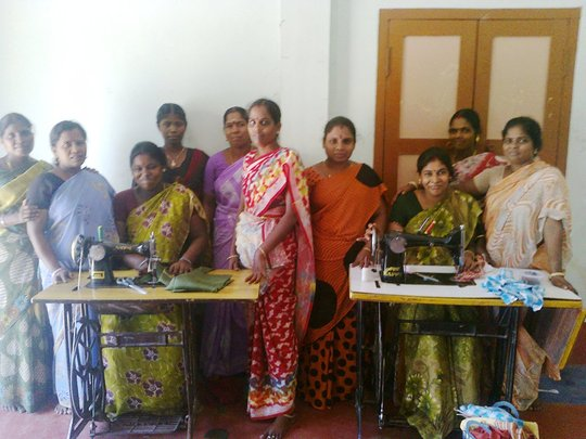 one batch of widow under livlihoods training