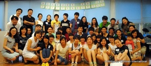 Class of 2012-2013 Welcome Party Group Pic