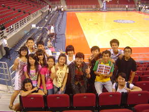 Class of 2011-2012 at Duke vs China B-ball Game