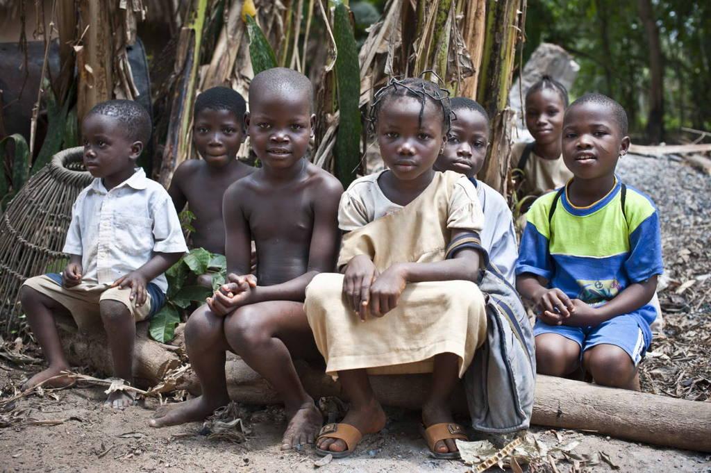Children in Benin