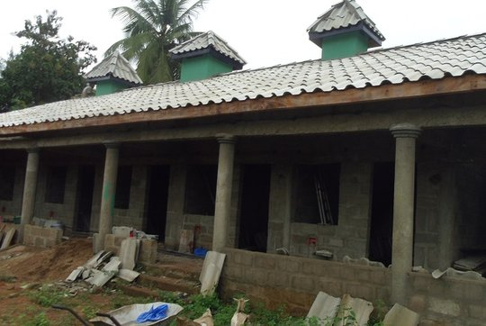 Adjidole orphanage now roofed