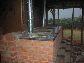 After - new stoves in new cookhouse