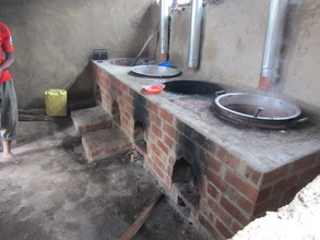 New GBE stoves at Buhanda Primary School