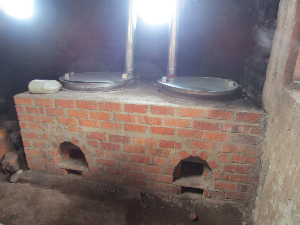 New Main Campus Cookstoves from Green Bio Energy