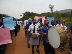 Students on Parade