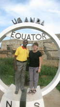 Crossing the equator on the way to Rubaare