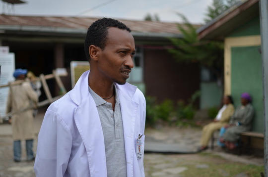 A clinic in Ethiopia where Plumpy