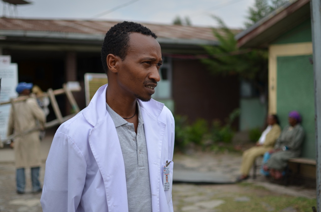 A clinic in Ethiopia where Plumpy