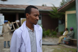 A clinic in Ethiopia where Plumpy'Nut is given