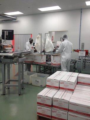 Edesia's factory