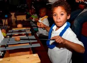 Teach 5000 kids math and science through rhythm!