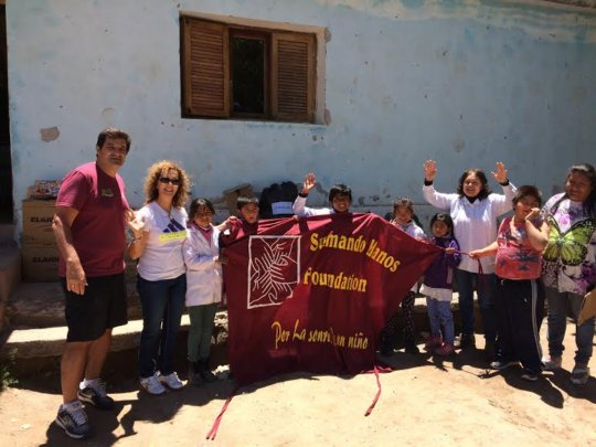 Donation for school in the montain in Catamarca
