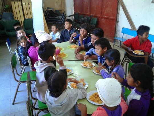 Children: Lunch at School