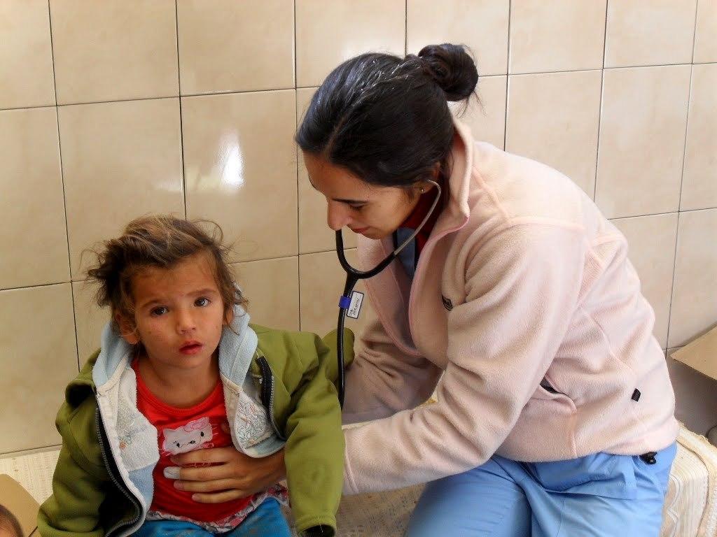 Gonzalez Catan, visita pediatrica/pediatric visit