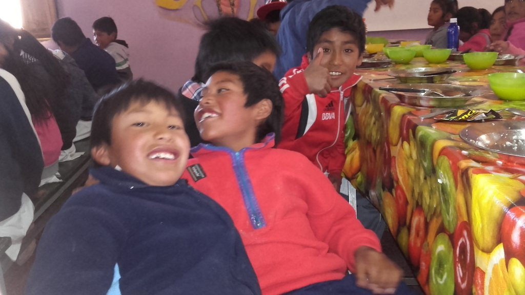 Happiness - Clean Water is a reality in Huancar