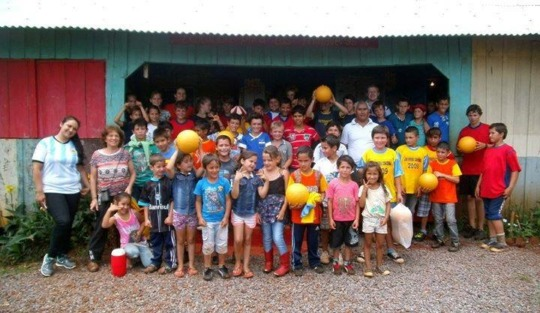 Impact. Children in Misiones' School