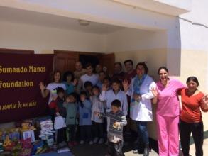 Delivering food at Catamarca's Schools