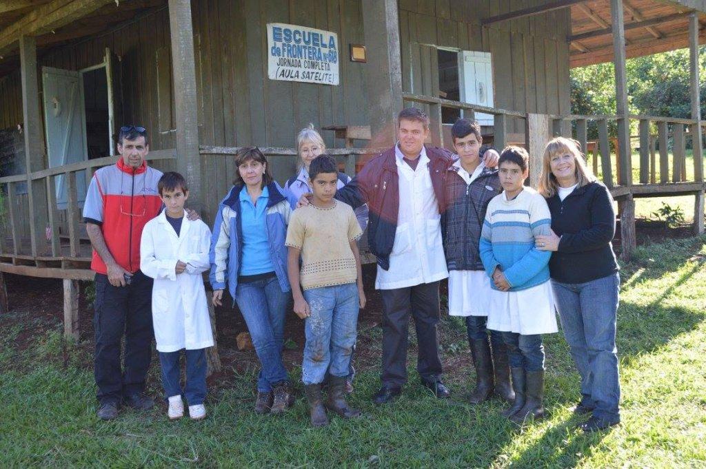 Pediatric visit to rural school in Misiones